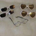 Cолнечные очки для кукол  Готц Gotz 42-50 см и  им подобным по размерам.