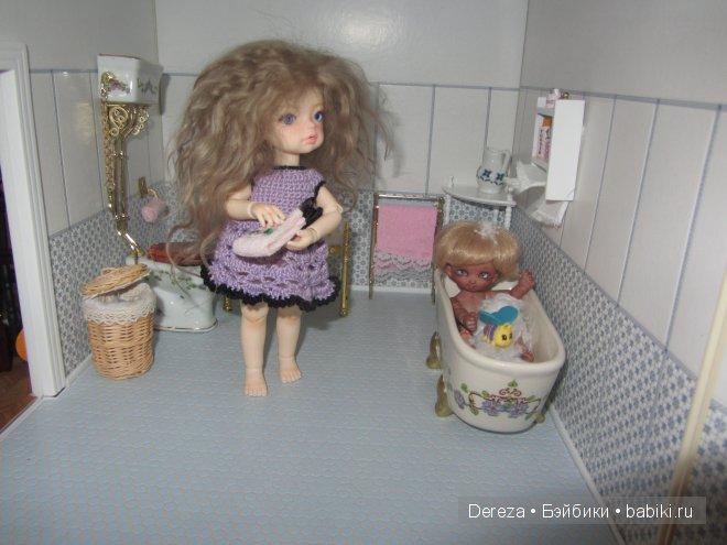 Где живут мои самые маленькие бжд куклы