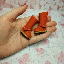 Оранжевые сапожки для Блайз
