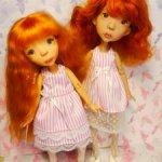 Платья для кукол Татьяны Филенко
