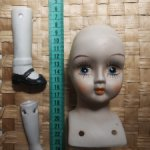 Набор для сборки антикварной куклы