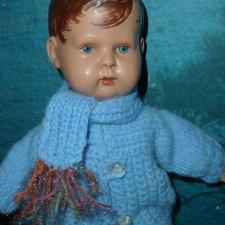!кукла старинный пупс MINERVA , Germany 30см