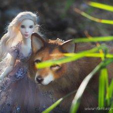 Лами и ее волк