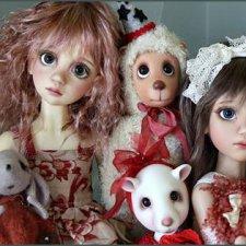 Интервью с автором шарнирных кукол Лиз Фрост (Liz Frost)
