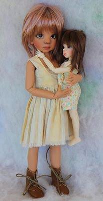 Интервью с популярным автором БЖД кукол Kaye Wiggs