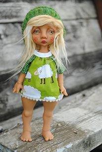 Интервью с автором шарнирных кукол Nefer Kane