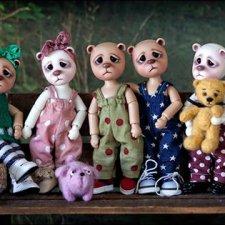 Новые предзаказы БЖД кукол от Лиз Фрост: mini Ted, Willow, Finn&Fifi