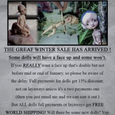 Продажа стоковых кукол на сайте Nefer Kane