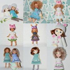 Куклы yosd: Tillie Kaye Wiggs, Robin Cosmodolls, Annie Nikki Britt, Nefer Kane