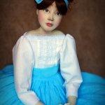 Авторская кукла Марсель
