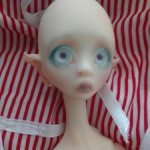 Nexeven, авторская кукла Nefer Kane.