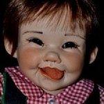 Озорной малыш Пи Джей,молд Cindy Rolfe.ООАК.