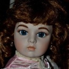 Реплика антикварной куклы Брю-Лилиан Роуз(Lilian Rose) от Paradise Galleries