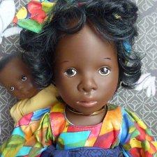 Kemba & Bintu. Коллекционные куклы Sylvia Natterer