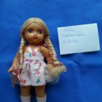 Паричковая кукла СССР Сибигрушка