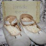 Антикварные туфли с застежками-бусинами!
