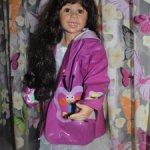 Лот красивой одежды на большую куклу! Нарядные платьица,  сарафан, плащик!