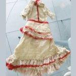Антикварное платье, 1880-1890гг