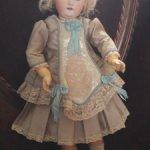Шикарный комплект для антикварной куклы или реплики