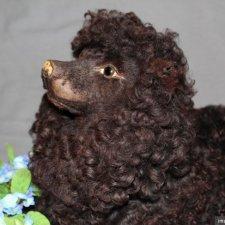 Редкость! Французская антикварная Lou Lou Pajama Dog с подвижными ушками