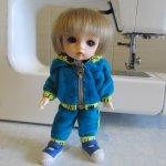 Спортивный костюм для куклы Пукифи (pukiFee FairyLand BJD). Мастер-класс, выкройка