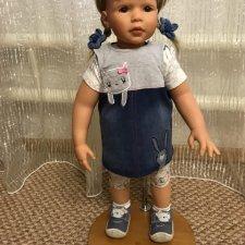 Бюджетная подставка для большой куклы МК