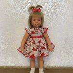 Комплект Лисички  для куклы Lee Middleton 56-62 см.