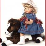 Очаровательные куклы от Virginia Turner