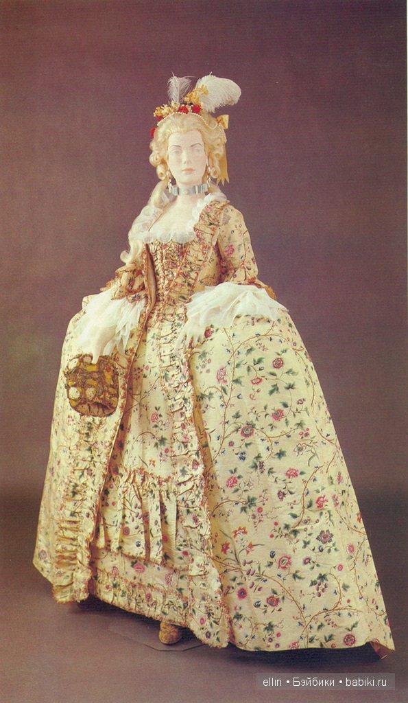 Платье 18 века сшить своими руками