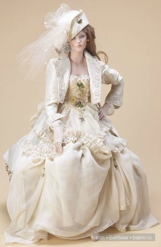 Элегантные куклы-дамы Марии Росси (Maria Rossi dolls). Коллекционные куклы марки Marigio