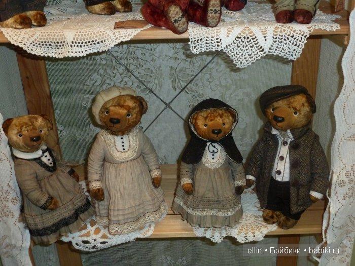Выставка кукол и мишек на Тишинке. Moscow Fair - Мишкаград 2016. Мои фото