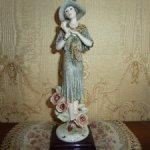 Изысканная статуэтка РОЗА от знаменитого Джузеппе Армани (Италия)
