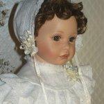 Моя милая Сьюзи, фарфоровая кукла Ann Timmerman