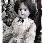 Антикварная кукла Куно и Отто Дрессель, Cuno & Otto Dressel и старинное видео