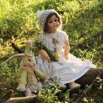 Немного сказки в последний день весны. Антикварная кукла автора Schoenau & HOFFMEISTER, молд 914