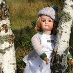 Лето в сентябре. Антикварная кукла от Cuno & Otto Dressel, Германия