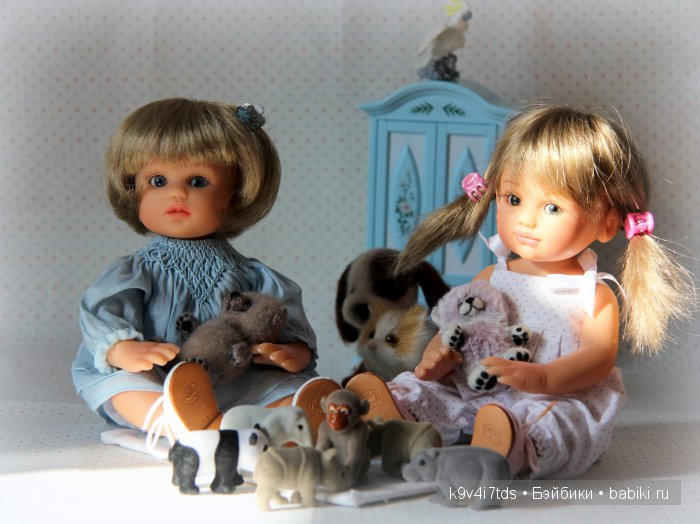 куклы автора Gabriele Müller