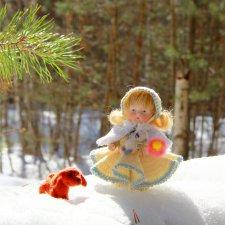 Девочка Весна. Strobile & Wilken Doll