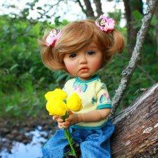 Летняя прогулка Сильвии. Sylvia-Scarlet от Meadow Dolls