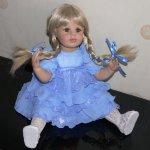 Переделка куклы Artista doll Донны Руберт своими руками