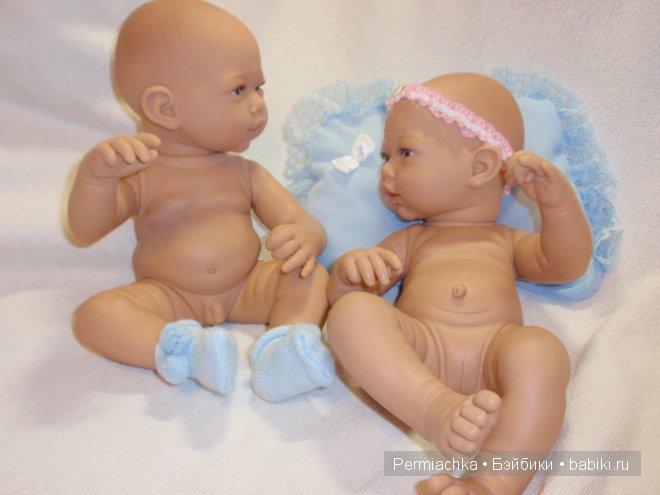 Голопузики из Испании. Куклы GUGA