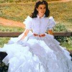 Платье для куклы Скарлетт О'Хара Франклин Минт Унесенные ветром