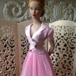 Редкий, очень нежный, красивый аутфит, наряд для куклы Тоннер