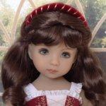 Обруч ободок для куклы Эффнер Effner и других кукол со схожими размерами головы