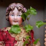 Антикварные куклы Revalo Molded Hair