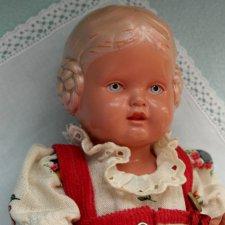 Игровые куклы прошлого. Bаrbel от Schildkrоt
