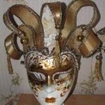 Венецианские маски в натуральную величину