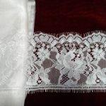 Тончайшие шелк и кружево для шитья на антикварок и не только