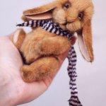 Сильвиан - кролик из леса. Авторские игрушки ручной работы Татьяны Матляк