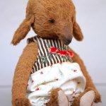Собачка Тося, авторская игрушка ручной работы Татьяны Матляк